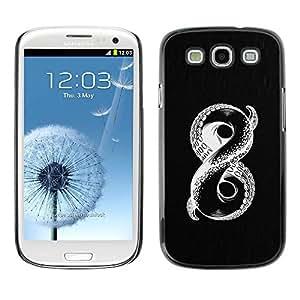 PC/Aluminum Funda Carcasa protectora para Samsung Galaxy S3 I9300 infinite octopus mysterious monster / JUSTGO PHONE PROTECTOR