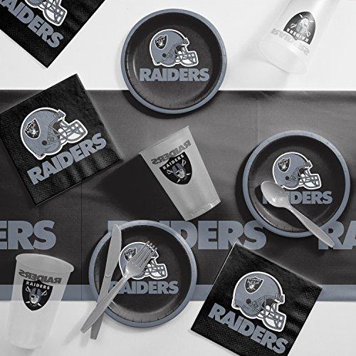 Creative Converting Oakland Raiders Tailgating Kit -