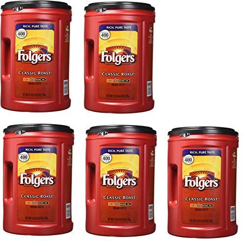 Folgers Coffee, Classic(Medium) Roast, 5 Count, 51 Ounce
