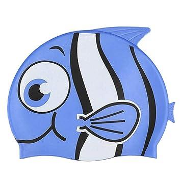 84c6f6bd CatcherMy®Summer Calzones de natación para niños Calientes Gorras de  natación para niños de Dibujos