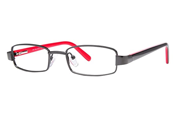 812bd5572817 Amazon.com: Caravaggio C917 Boy's Eyeglass Frames - Black: Clothing