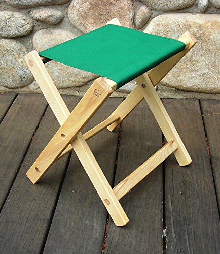 Camp Stool Fabric Color: Forest Green