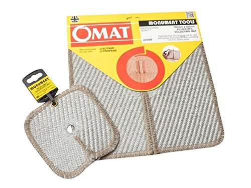 OMAT Soldering & Brazing Pad Twin Pack 305mm (12in) & 150mm (6in)