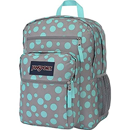c8924cc8a6 Amazon.com  Jansport Big Student Black Grey Rabbit Sylvia Dot Backpack Bag  Shcool Book Storage  Toys   Games