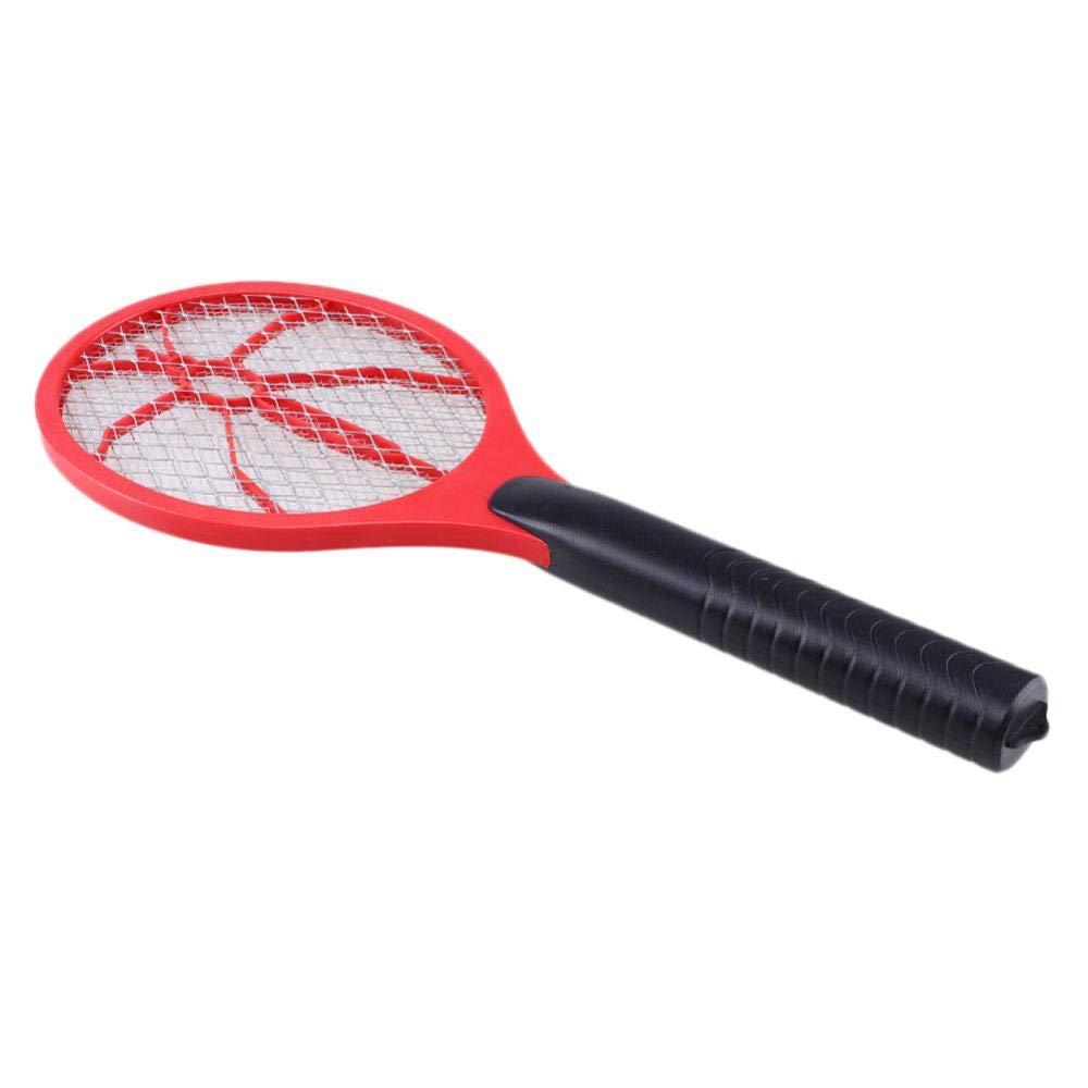 ZHUANGJI Handheld Haushalt elektrische DREI-Schicht-Gitter Insekt Anti-Moskito-Fliegen Insekt Fliegenschl/äger