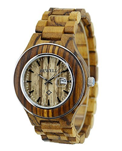 Topwell ZebraWood Watches Calendar Wristwatches product image