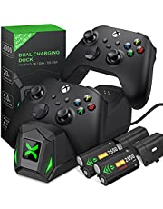 $24 » ESYWEN Controller Charger Station for Xbox One/Series X|S, Charging Station for Xbox one Controller Battery Pack with 2 x 2550mAh Rechargeable Battery, Dual Charging Dock for Xbox One X/One S/Elite