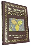 Chronicle of Pilgrimage to Israel and the Holy Land - Holy Land Experience - Holy Land - Journeys of Faith - The Holy Lands - Hardcover - Gold Leaf - Coffee Table Book