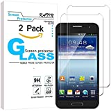 samsung note ii replacement glass - Galaxy Note 2 Screen Protector - KATIN [2-Pack] Samsung Galaxy Note 2 Premium 9H Tempered Glass 3D Touch Compatible , 2.5D Round Edge with Lifetime Replacement Warranty