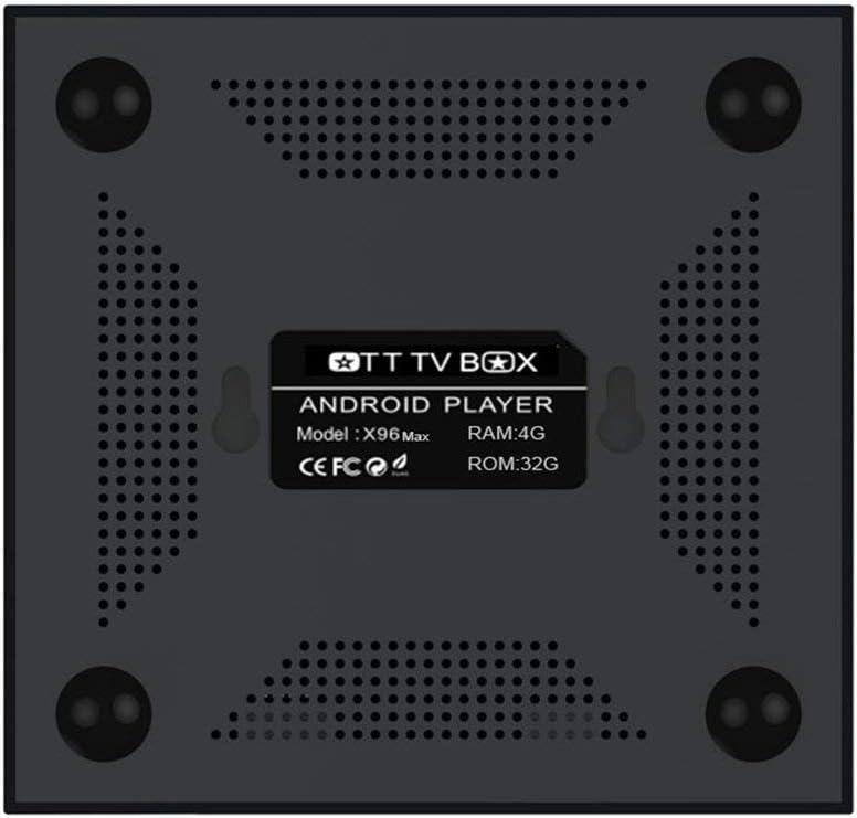x96 Mini Android TV Box 16/32/64GB Android 8.1 4 K Smart TV Box 64bit Quad Core CPU Smart Box Android Mini PC con Mando a Distancia: Amazon.es: Electrónica