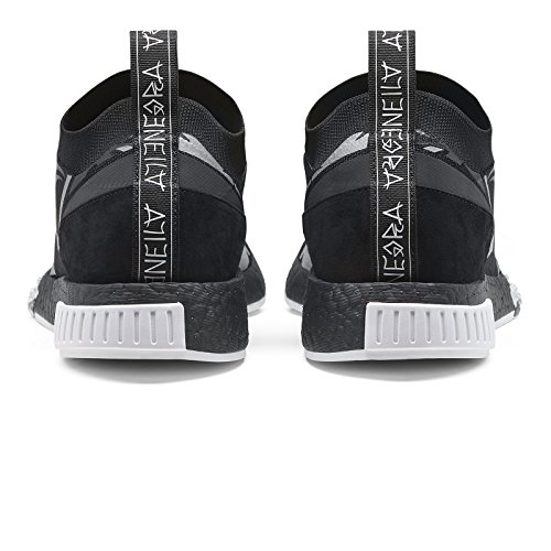 discount nicekicks adidas Mens Juice NMD Racer Black/White Nylon Black / Footwear White / Core Black amazon footaction extremely online how much pyWxef