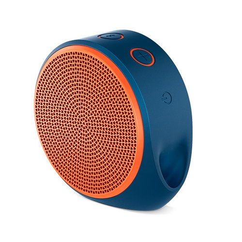Logitech X100 Mobile Lautsprecher (Bluetooth, micro-USB Ladekabel) orange