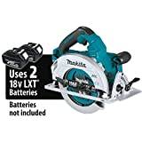 "Makita XSH06Z 18V X2 LXT Lithium-Ion (36V) Brushless Cordless 7-1/4"" Circular Saw, Tool Only (Renewed)"