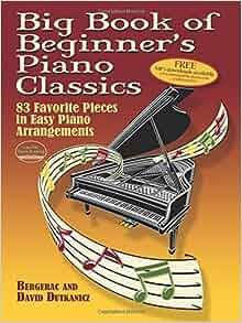 big book of beginner's piano classics pdf