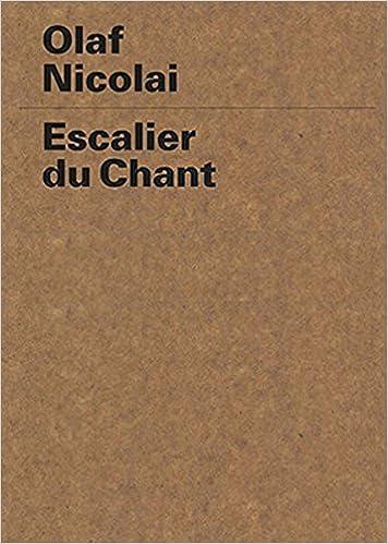 Escalier du Chant: Amazon.de: Olaf Nicolai, München ...