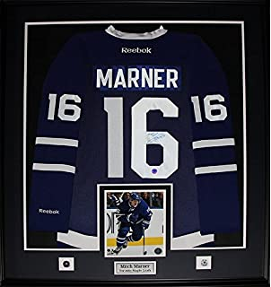 abbeacbb143 Mitch Marner Toronto Maple Leafs Signed Jersey NHL Hockey Collector Frame