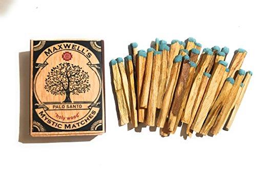 Maxwell's Mystic Matches Palo Santo Incense Match Sticks | Peruvian