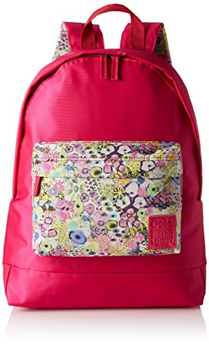 Gola Walker Liberty SAB - Bolso mochila de Material Sintético para mujer Rojo Rot (Raspberry/Multi) 29x39x13 cm (B x H x T)