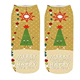 Christmas Socks Men,Christmas Socks To Hang,Christmas Socks And Slippers,Nightmare Before Christmas Socks,3D Funny Crazy Cute Amazing Novelty Print Ankle Socks,G,Free Size