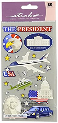Wilton Sticko Mr. President Stickers