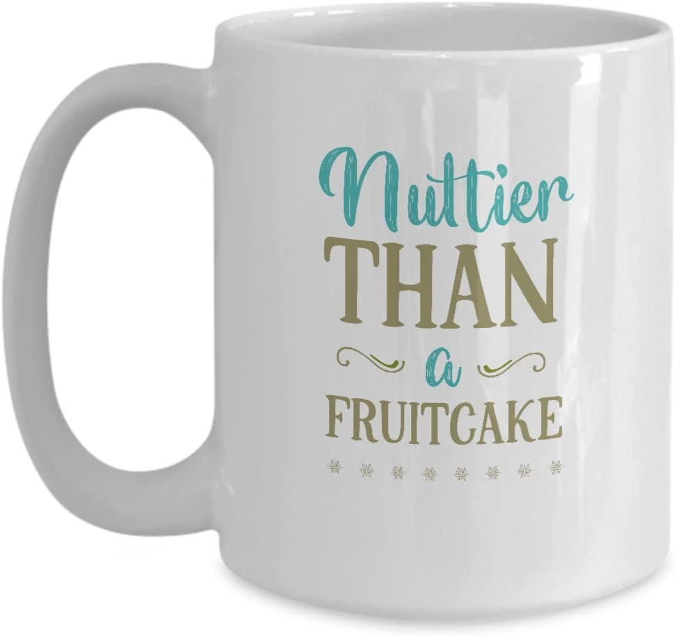 Holiday Coffee Mug - Nuttier Than A Fruitcake – Cake Boss Breakfast