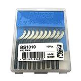 10Pcs NOGA BS1010 S10 Swivel Blades Deburring Tool (japan import)