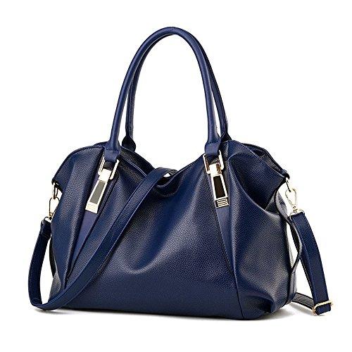 Naranja Bolsa Señoras De Moda Gran Bolso Con Calzado Bolso Meaeo Blue Capacidad Nuevo Bolsa Dama Fwq8pOUO