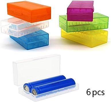 DELSEN - Caja Protectora para batería 18650/CR123A/16340 (6 ...