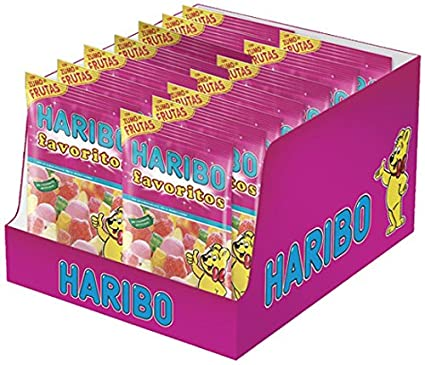 Haribo Favoritos Azúcar Gominolas - 14 Bolsas: Amazon.es ...