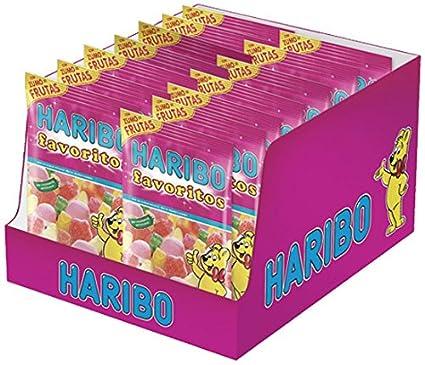 Haribo Favoritos Azúcar Gominolas - 14 Bolsas: Amazon.es ...