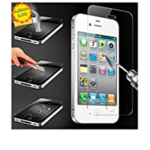 For iPhone4 4S Explosion Proof Tempered Glass Front Film Screen Protector