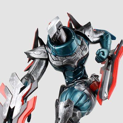 Shalleen League of Legends LOL The Master of Shadows Project Zed Action Figure 3D Status