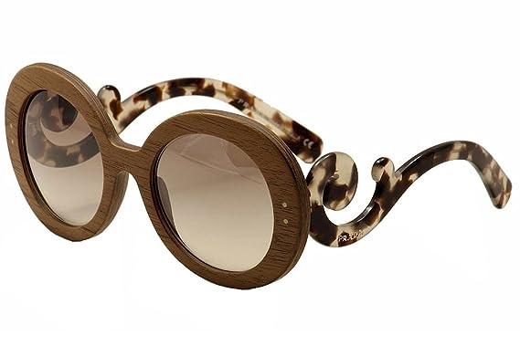 8b13f6bdd9 Prada Women s Raw Minimal Baroque PR27RS Sunglasses