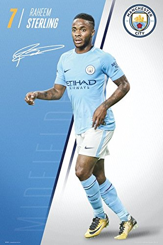 new products c9a4a 27420 Amazon.com: Manchester City - Sports / Soccer Poster / Print ...