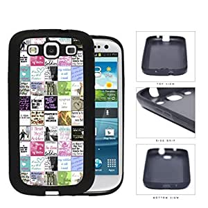Colorful I Love Soldier Us Army Rubber Silicone TPU Cell Phone Case Samsung Galaxy S3 SIII I9300