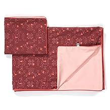 Albababy Hayden Single Bed Linen - Wild Ginger Triangl - Single - 140cm x 200 cm