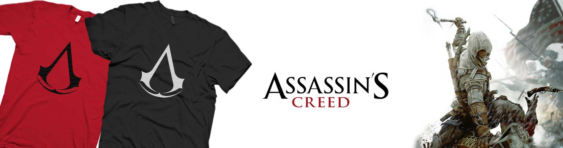 Assassins Creed Logo Shirt Banner