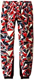 Hot Chillys Youth La Montana Print Bottom, Shatter Rebel/Black, Medium