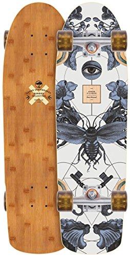 Complete Mini Longboard Skateboard - Arbor Pilsner Bamboo 2018 Complete Mini Longboard Skateboard New