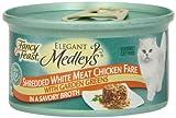 Fancy Feast Medley Shredded White Meat Chicken Cat Food, 3 oz