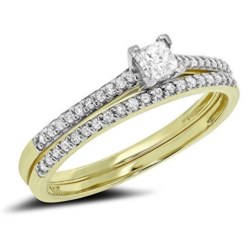0.39 Ct Princess Diamond - 4