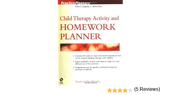 Child Therapy Activity and Homework Planner: 9780471256847 ...