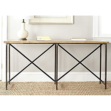 Safavieh American Home Collection Simon Natural Console Table