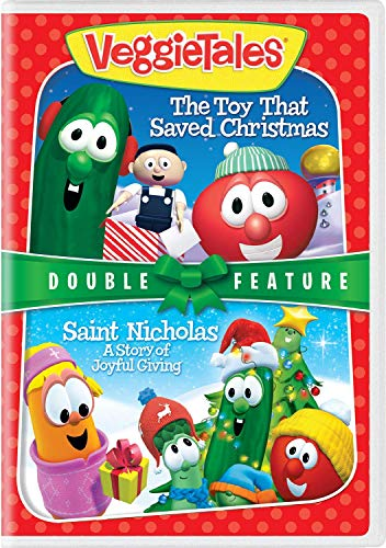 (VeggieTales Holiday Double Feature: The Toy That Saved Christmas / Saint Nicholas: A Story of Joyful)