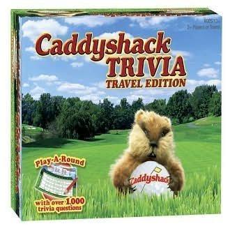 Trivia Caddyshack - Caddyshack Trivia - Travel Edition by Caddyshack