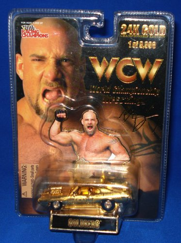 RACING CHAMPIONS WCW GOLDBERG 24K GOLD 1 of 9,998 LIMITED EDITION by WCW Series from C&W