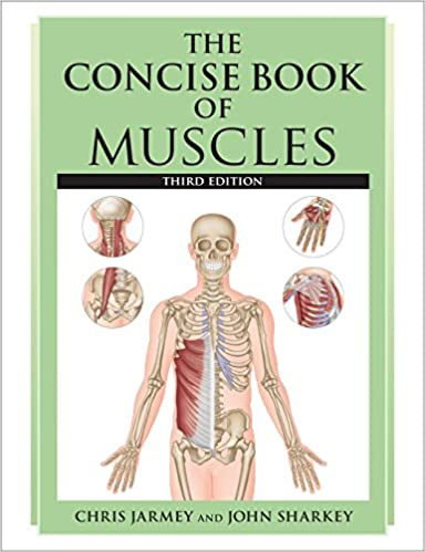 The Concise Book Of Muscles Third Edition Chris Jarmey John