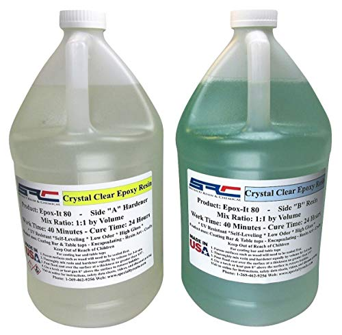 Clear Epoxy Resin For Table Tops Gloss Coating Casting