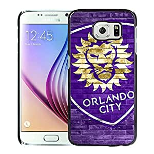 orlando city sc 07 Black Samsung Galaxy S6 Case Sale Online