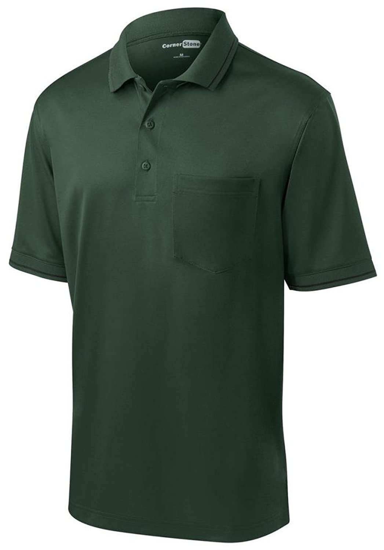 Jerzees Men's Preshrunk Double-Needle 3-Buttons Polo Shirt